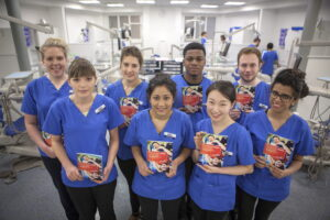Dental students support smoking cessation